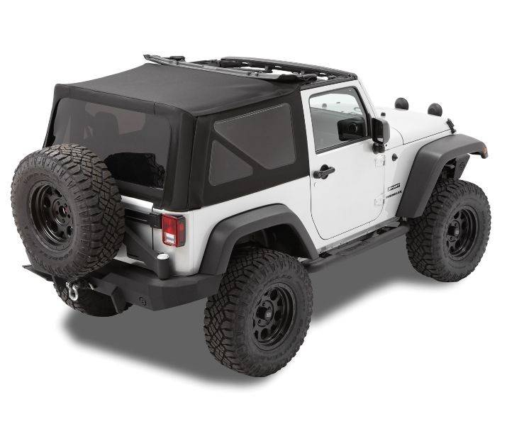 Jeep Wrangler Top Accessories: Bestop Replace-a-Top Soft Top Jeep 10-15 Wrangler JK Black