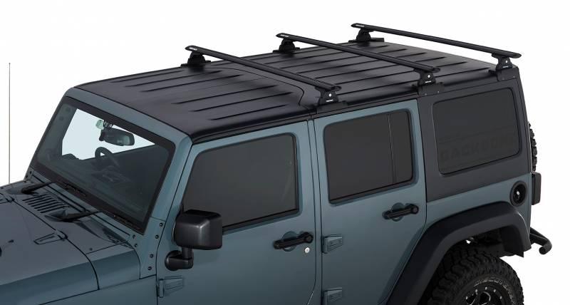 Vortex Rlt600 Black 3 Bar Rhino Rack Backbone Roof Rack