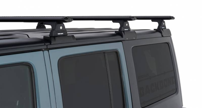 Vortex Rlt600 Black 3 Bar Rhino Rack Backbone Roof Rack