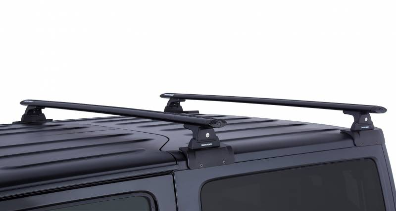 Vortex Rlt600 Black 2 Bar Rhino Rack Backbone Roof Rack