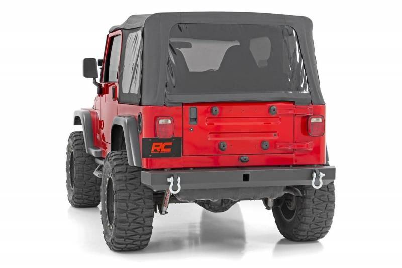 Rough Country Jeep Classic Full Width Rear Bumper (87-06 Wrangler YJ