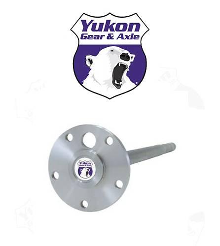 Yukon Gear /& Axle YA H21S Long Set Rear Left Axle for AMC Model 20 Differential 1541H Alloy