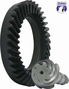 "Yukon Gear & Axle - High performance Yukon Ring & Pinion gear set for Toyota Tacoma and T100 7.5"" IFS Reverse rotation"