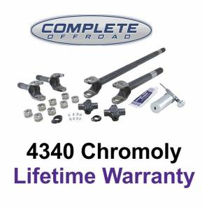 COMPLETE OFFROAD - 79-93 DODGE CHROME-MOLY AXLE KIT W/ SUPER U-JOINTS (W26028)