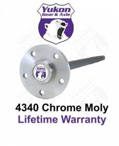 Yukon Gear And Axle - Yukon 1541H alloy left hand rear axle for Model 35 1990-2006 Jeep (YA M35C-30-L)