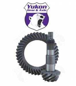 Yukon Gear & Axle - High performance Yukon replacement Ring & Pinion gear set for Dana 44 Short Pinion Reverse rotation 5.38