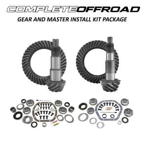 COMPLETE OFFROAD - Jeep TJ (D30/M35) Gear and Master Install Kit Package (Choose Ratio)