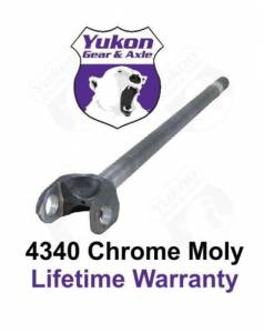 "Yukon Gear And Axle - Yukon Dana 44 34.75"" INNER Right hand AXLE, 75-79, STRAIGHT FORD FRONT F250 30 Spline, 4340. (YA W38814)"