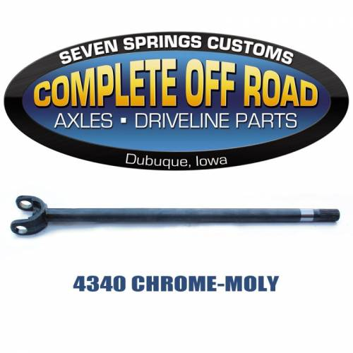 COMPLETE OFFROAD - 79-91 CHEVY 1 TON & 79-90 DODGE CHROME-MOLY 35 SPLINE AXLE (W48210)