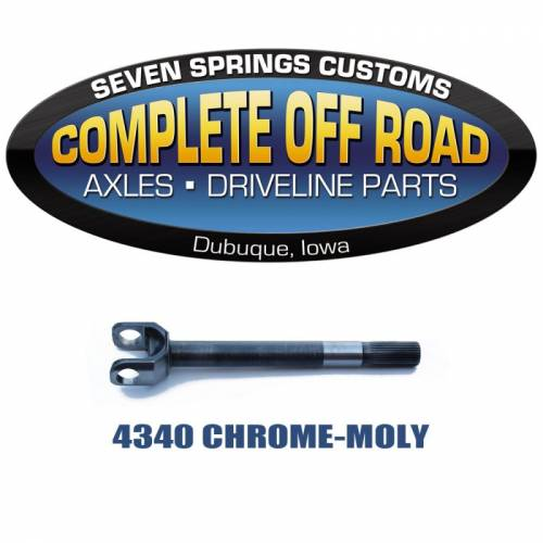 COMPLETE OFFROAD - 67-71 BRONCO 27 SPLINE INNER LH CHROME-MOLY AXLE (W38806)
