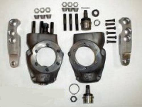 COMPLETE OFFROAD - KNUCKLE AND HIGH STEER ARM SET-UP DANA 44, GM, SCOUT AND CJ DANA 30 WITH 6 BOLT SPINDLES, COMPLETE KIT (SP1001-KK)