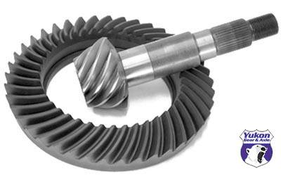 Yukon Gear And Axle - High performance Yukon replacement Ring & Pinion gear set for Dana 80 in a 3.54 ratio