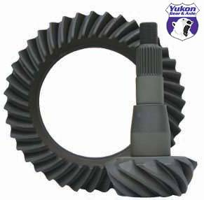 "Yukon Gear & Axle - High performance Yukon Ring & Pinion gear set for '09 & down Chrylser 9.25"" in a 4.56 ratio"