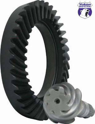"Yukon Gear And Axle - High performance Yukon Ring & Pinion gear set for 8"" Toyota Land Cruiser Reverse rotation, 5.29"