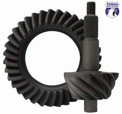 "Yukon Gear & Axle - High performance Yukon Ring & Pinion gear set for Ford 9"" in a 4.56 ratio"
