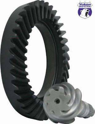 "Yukon Gear & Axle - High performance Yukon Ring & Pinion gear set for Toyota 7.5"" Reverse rotation in 5.29 ratio"