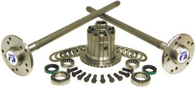 Yukon Gear And Axle - Yukon Ultimate 35 Axle kit for bolt-in axles with Detroit Locker (YA M35W-1-30-D)
