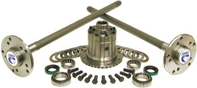 Yukon Gear And Axle - Yukon Ultimate Model 35 Axle kit c/clip axles with Yukon Grizzly Locker (YA M35W-2-30-YGL)