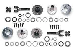 Yukon Gear & Axle - Yukon 00-01 Dodge Dana 44  Free Spin Hub Conversion Kit (YAWU-02)