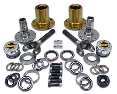Yukon Gear And Axle - Spin Free Locking Hub Conversion Kit for Dana 60 & AAM, 00-08 SRW DODGE (YA WU-04)
