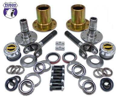 """Yukon Gear & Axle - Spin Free Locking Hub Conversion Kit for Dana 30 & Dana 44 TJ, XJ, YJ, 27 Spline, 5 x 4.5"""" (YA WU-07)"""