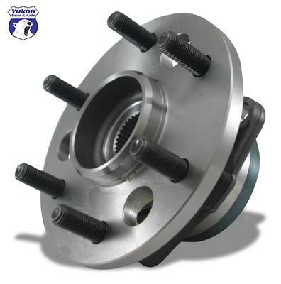 Yukon Gear And Axle - Yukon unit bearing for '97-'00 Ford F150 front, w/ABS. Uses 5 mouting bolts.