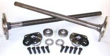 Yukon Gear And Axle - One piece short axles for Model 20 with bearings and 29 splines (1973-1983 Jeep CJ5 and 1976-1981 CJ7) (YCJS)