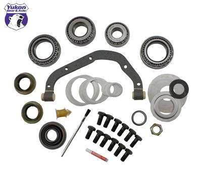 "Yukon Gear And Axle - Yukon Master Overhaul kit for Ford 9"" LM603011 differential and crush sleeve eliminator"