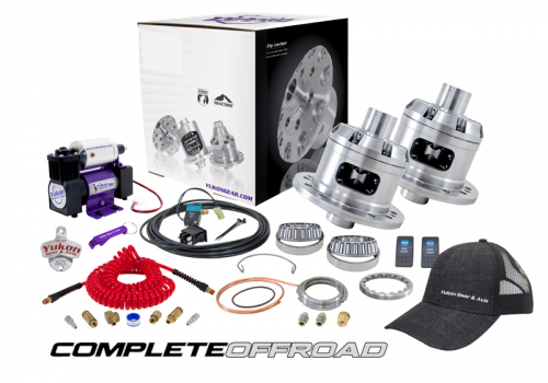 COMPLETE OFFROAD - Jeep JK Non Rubicon Gear & Install Kit Package with Yukon Traction Pack