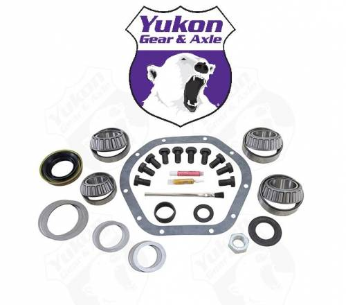 Yukon Gear And Axle - Yukon Master Overhaul kit for Dana 44 rear differential for use with new '07+ non-JK Rubicon. (YK D44-JK-STD)