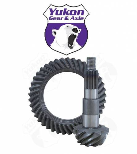 Yukon Gear & Axle - High performance Yukon replacement Ring & Pinion gear set for Dana 44 Short Pinion Reverse rotation 4.56