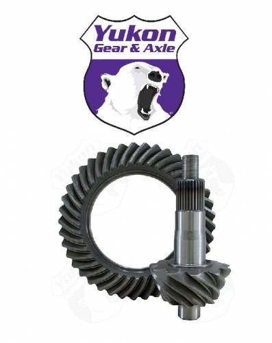 "Yukon Gear & Axle - High performance Yukon Ring & Pinion ""thick"" gear set for 10.5"" GM 14 bolt truck in a 5.13 ratio"