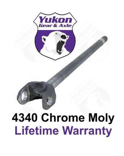 """Yukon Gear And Axle - Yukon 4340 Chrome-Moly blank axle for Dana 60, 38"""" long (YA W81556-4340L)"""