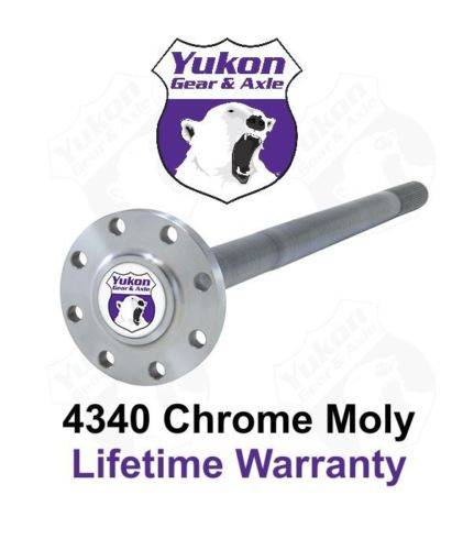 Yukon Gear And Axle - Yukon 4340 Chrome Moly rear replacement axle for Dana 60, 30 spline (YA WFF30-36.5)