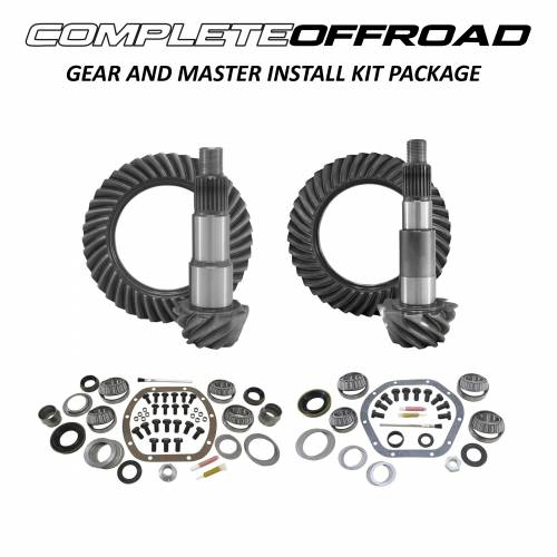 COMPLETE OFFROAD - Jeep TJ (D30/D44) Gear and Master Install Kit Package (Choose Ratio)