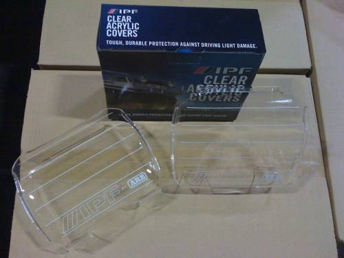ARB - IPF Clear Covers 800XS Acrylic Lens Cover for 800XS Series Lights (800CC)