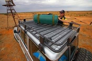 """ARB - ARB 73"""" X 49"""" Roof Rack with Mesh Floor"""