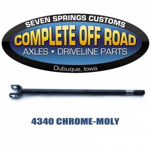 "Axles - COMPLETE OFFROAD - '72-'81 Jeep CJ Dana 30  27.01"" 27 Spline 4340 Left Inner Axle (W38789)"