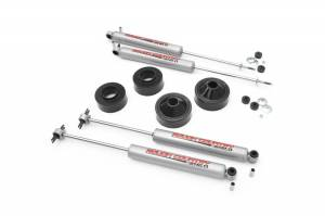Jeep - 2007-Present JK  - Rough Country - 1.75in Jeep Suspension Lift Kit for Jeep JK (2007-Present) with Shocks