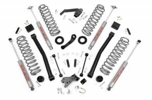 Jeep - 2007-Present JK  - Rough Country - 3.5in Jeep JK Suspension Lift Kit - 4 Door Only