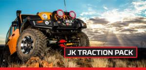 Lockers & Limited Slips - Selectable Lockers - ARB - ARB Jeep Wrangler JK  Air Locker Traction Pack RD100 RD117 CKMA12 171302