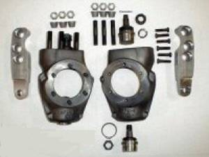 Steering - Steering Knuckles - COMPLETE OFFROAD - KNUCKLE AND HIGH STEER ARM SET-UP DANA 44, GM, SCOUT AND CJ DANA 30 WITH 6 BOLT SPINDLES, COMPLETE KIT (SP1001-KK)