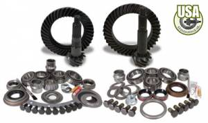 Gear and Install Kit Packages - USA Standard Gear - USA Standard Gear & Install Kit package for Jeep XJ & YJ with D30 front & Model 35 rear, 4.56 ratio.