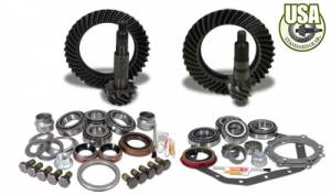 Gear and Install Kit Packages - USA Standard Gear - USA Standard Gear & Install Kit package for Standard Rotation D60 & 88 & down GM 14T, 5.38 ratio