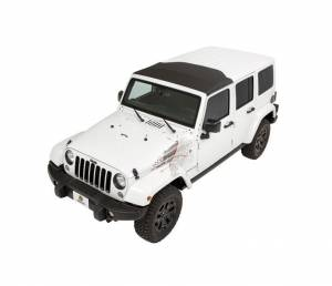 Bestop - Bestop Sunrider for Hardtop Jeep 07-16 Wrangler JK Black Twill 52450-17