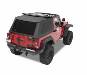 Bestop - Bestop Trektop NX Complete Replacement Soft Top Jeep 07-15 Wrangler JK 56822-35