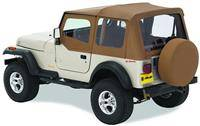 Bestop - Bestop Replace-a-Top Spice Clear Windows with Upper Door Skins Jeep YJ Wrangler 51120-37