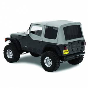 Bestop - Bestop Replace-a-Top Charcoal Denim Tinted Windows with Upper Door Skins Jeep YJ Wrangler 51123-09