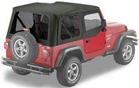 Bestop - Bestop Replace-a-Top Black Denim Tinted Windows (97-02 TJ) 51124-15