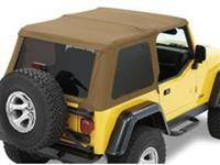 Soft Tops - Bestop Soft Top Jeep TJ Wrangler 1997-2006 - Bestop - Bestop Trektop NX Complete Soft Top Spice (97-06 TJ) 56820-37